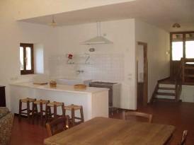 case sulla collina ad est - Soggiorno Cucina Con Camino 2